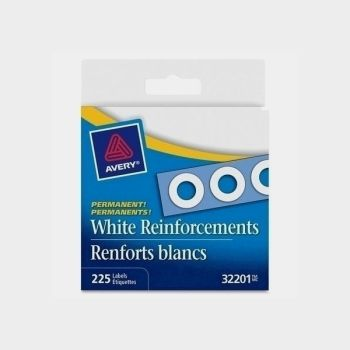 Avery Reinforcements White