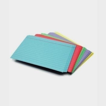 Coloured Index Cards 4x6 100pk