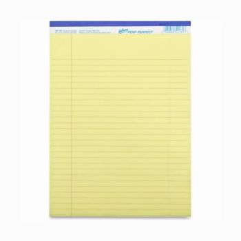 Hilroy Lined Pad Yellow 50 sheet